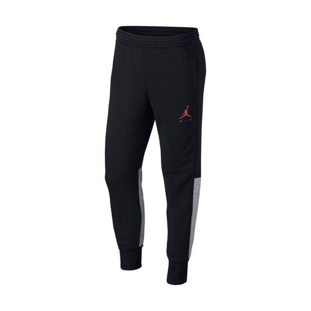 Jordan - Pantalon de survêtement Nike Flight Fleece Cement - 884203-010 Noir - pas cher Achat / Vente Survêtement homme - RueDuCommerce