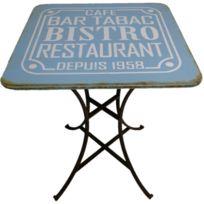 ANTIC LINE CREATIONS - Table bistro vintage