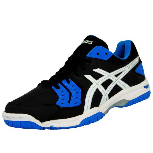 chaussures asics homme bleu noir