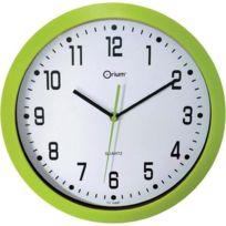 Orium - Horloge murale silencieuse Ø30cm anis
