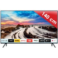Samsung - Téléviseur Ultra Hd 4K 138 cm Ue55MU7045