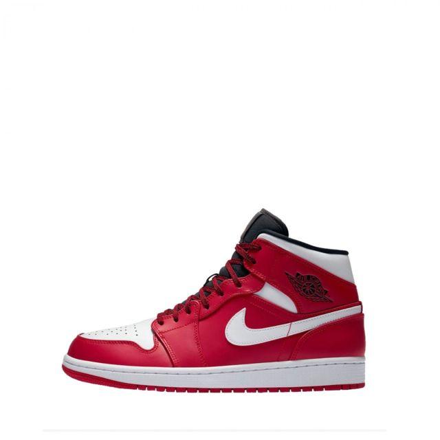 Jordan Ref554724 605 40 Cher 1 Rouge Mid Baskets Pas Nike wOnPXk80