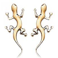Bijoux en Vogue - Boucles d'oreilles Plaqué Or Animal