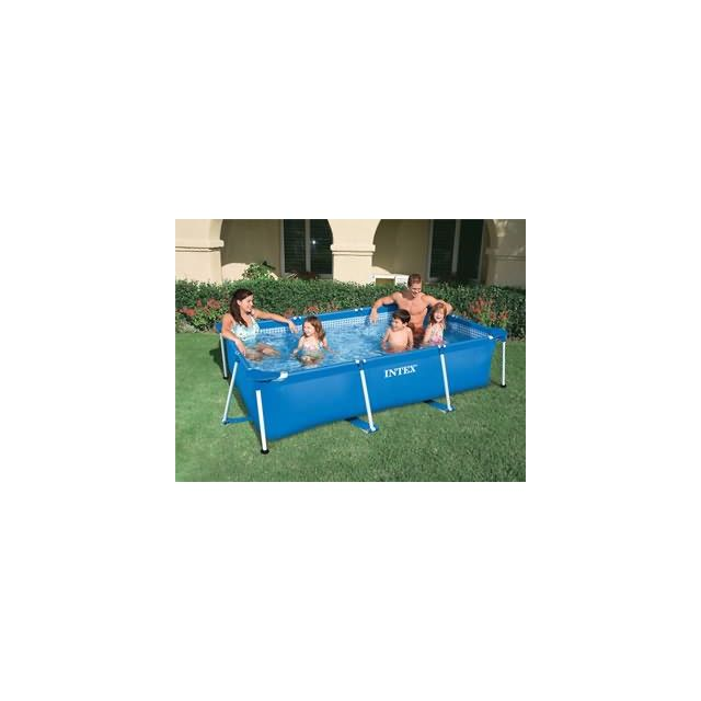 intex pool zen spa piscine hors sol tubulaire metal frame junior rectangulaire dimensions. Black Bedroom Furniture Sets. Home Design Ideas