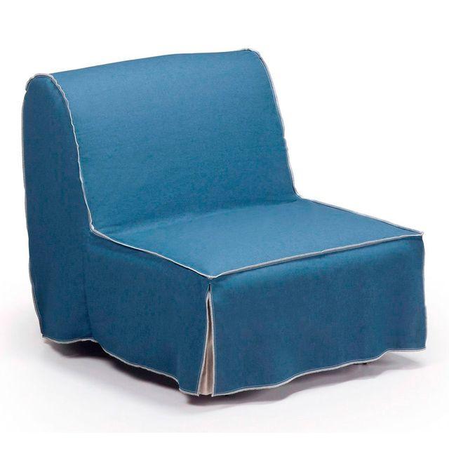 Kavehome Canapé lit Jessa 90, bleu