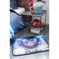 La Maison D'AMELIE - Tapis velours imprimé 40x60 Astro Cat