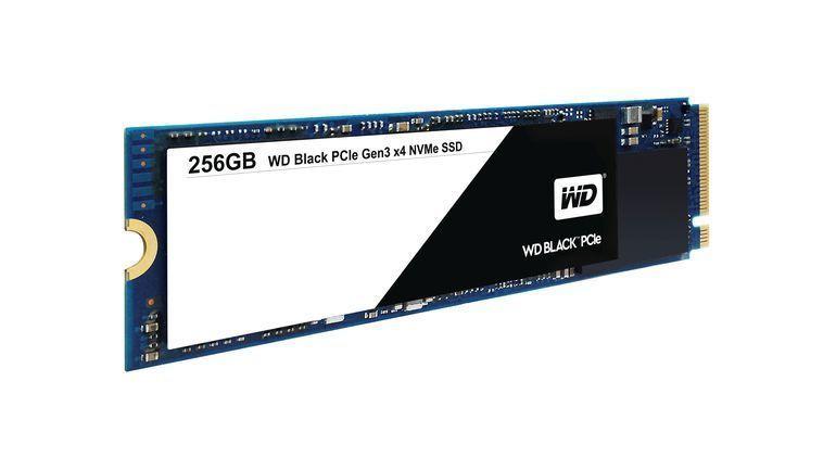 WD Black SSD PCIe NVMe 256 Go