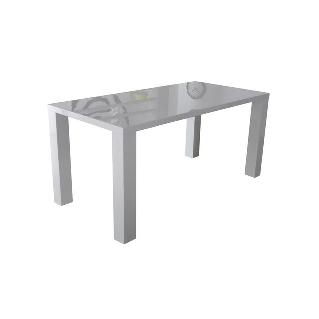 Altobuy Soliste - Table Rectangulaire Blanche