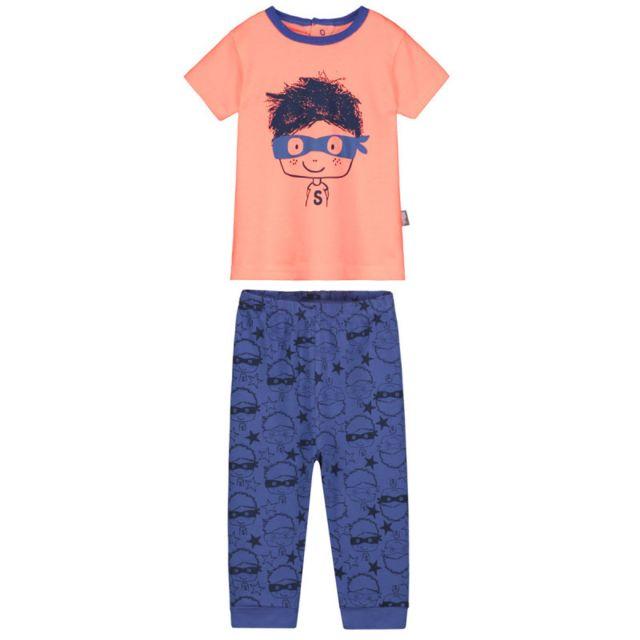 77c9afb2c7994 Petit Beguin - Pyjama bébé 2 pièces Super Hero - Taille - 12 mois ...