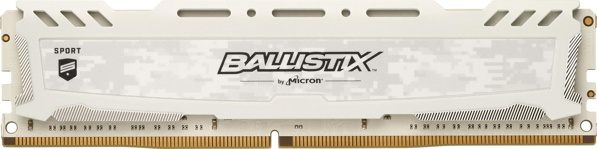 Sport LT White 8 Go 2x4 Go, 2666 Mhz DDR4 CL16