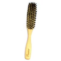 Ecodis - Brosse à cheveux fine Hetre, poils de sanglier