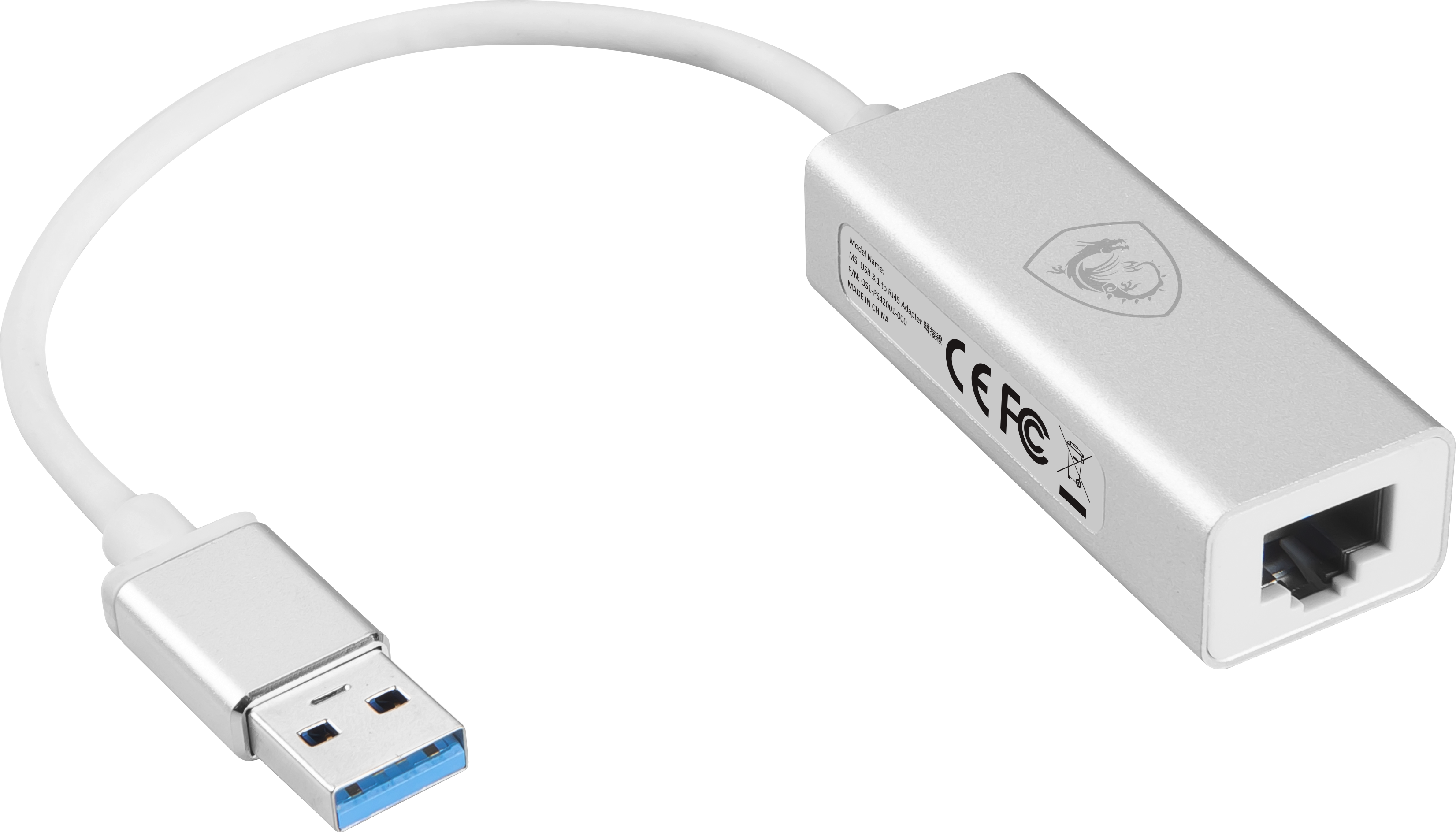 Adaptateur USB 3.1 vers RJ45
