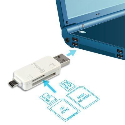 Cabling - Lecteur de carte mémoire Usb All in One pour Micro Sd/MICRO Sdxc/SD/MMC