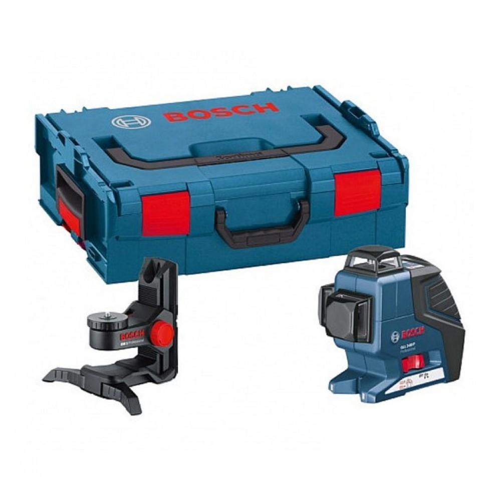 bosch - laser 3 croix 360° gll 3-80 + bm1 0601063309 - pas cher