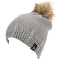 Lhoste - Bonnet à pompon Magou gris bonnet Gris 59881