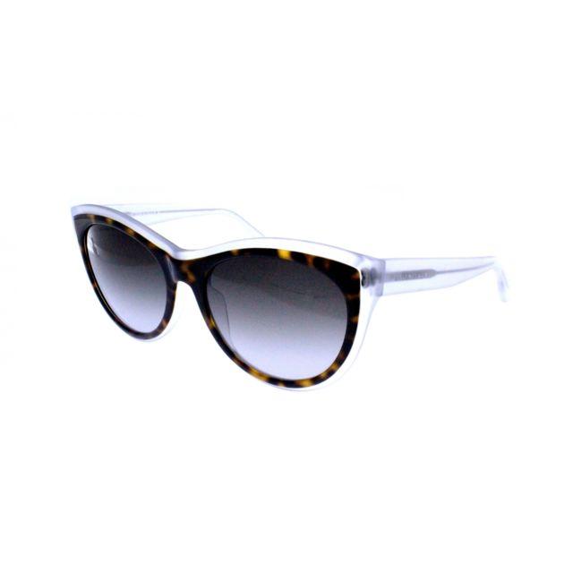 86d00cce612abb Balenciaga - Ba 65 56B - Lunettes de soleil femme Marron - pas cher ...