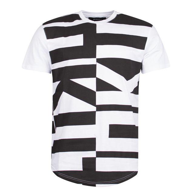 Unkut - T-shirt Wang Blanc - pas cher Achat