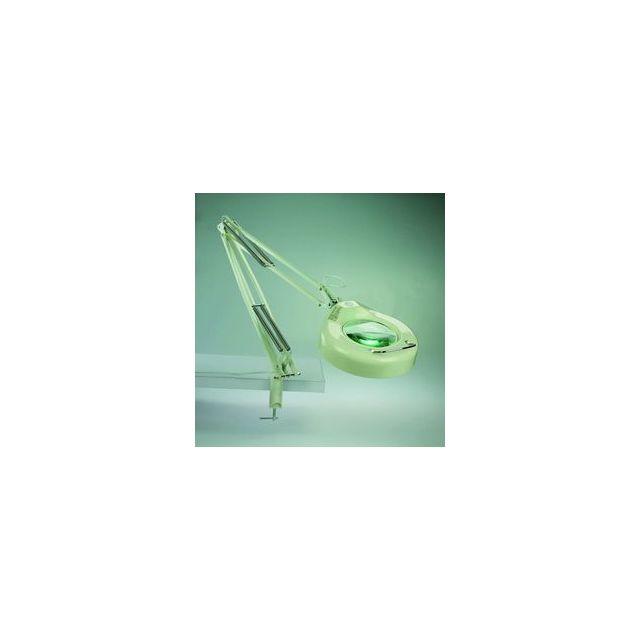 Faro Lampe De Bureau Avec Loupe Blanc Magni 50040 Pas Cher Achat