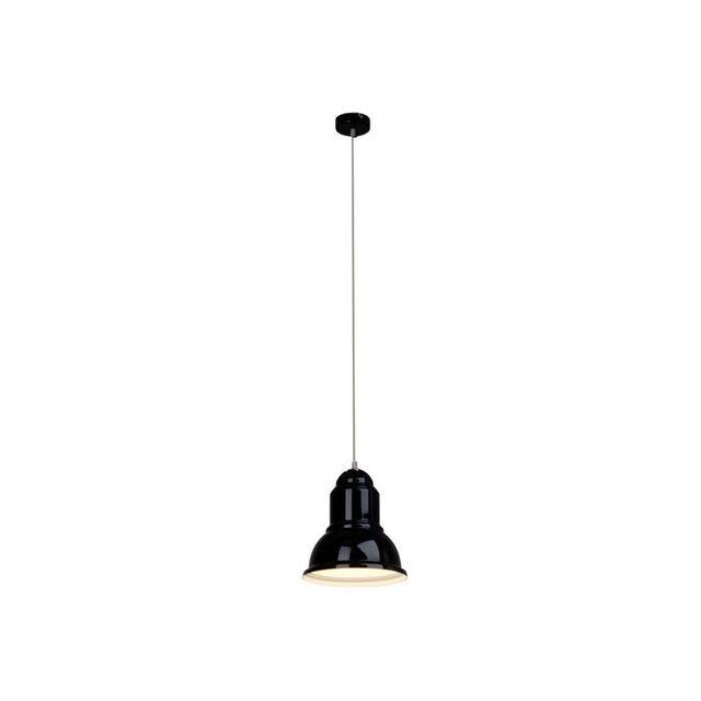 Brilliant Suspension fil Almira 1x60W E27 Noir Brillant 93388_06