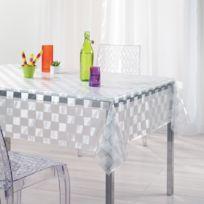 Nappe transparente achat nappe transparente pas cher rue du commerce - Nappe plastique transparente pour table ...