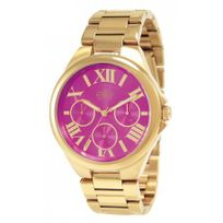Elite Model - Montre Jour Et Date Elite Femme Rose - E54374G-112
