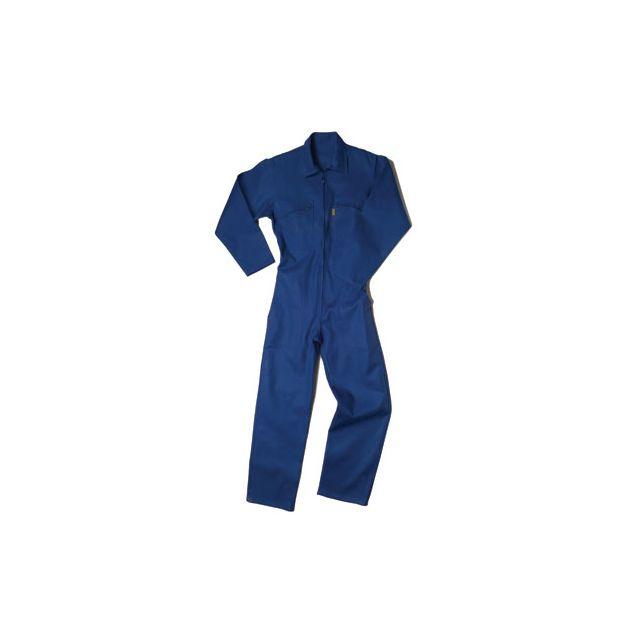 cepovett combinaison de travail coton coloris bleu taille 1 pas cher achat vente le. Black Bedroom Furniture Sets. Home Design Ideas