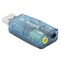 Cabling - Carte son Usb 5.1 entrée micro et sortie audio