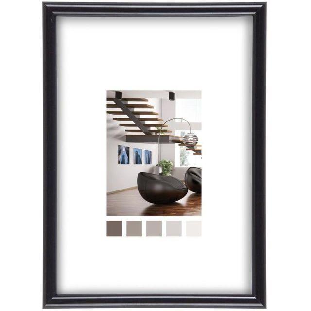 ikra imagine expo cadre photo noir 50x70 pas cher achat vente cadre photo num rique. Black Bedroom Furniture Sets. Home Design Ideas