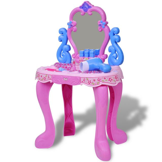 Vidaxl - Coiffeuse de jouet avec lumière/son pour enfants - pas cher ...