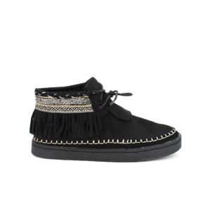 Cendriyon Peau Simili Boots Achat Pas Noir Bellos Cher Daim pqpHwr