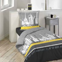 Housse couette new york achat housse couette new york for Chambre de commerce new york