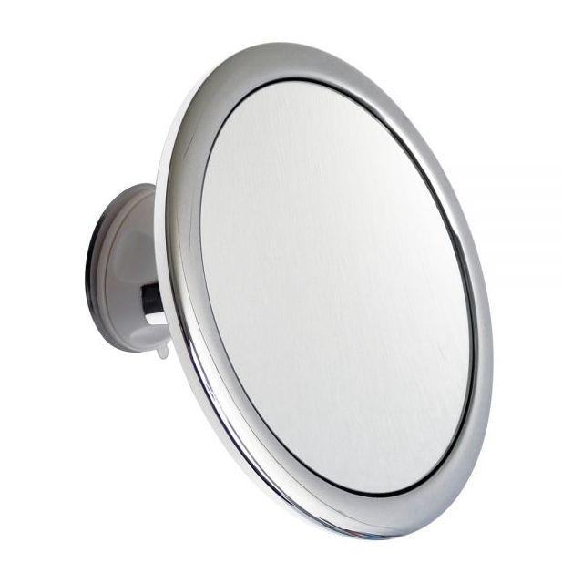 Hestec Miroir Grossissant Chrome Salle De Bain Rond Fixation