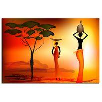 Hexoa - Tableau design africain - Fabrication française