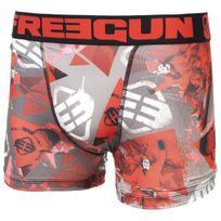 Freegun - Sous vêtement boxer Red noir/rge boxer jr Noir 56234