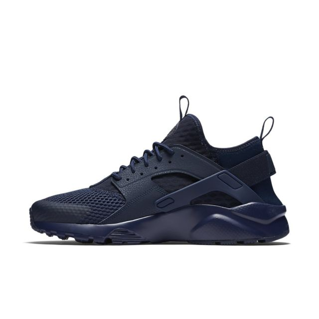 7da32f8639e40 Nike - Basket Air Huarache Ultra Breathe - Ref. 833147-400 - pas cher Achat    Vente Baskets homme - RueDuCommerce