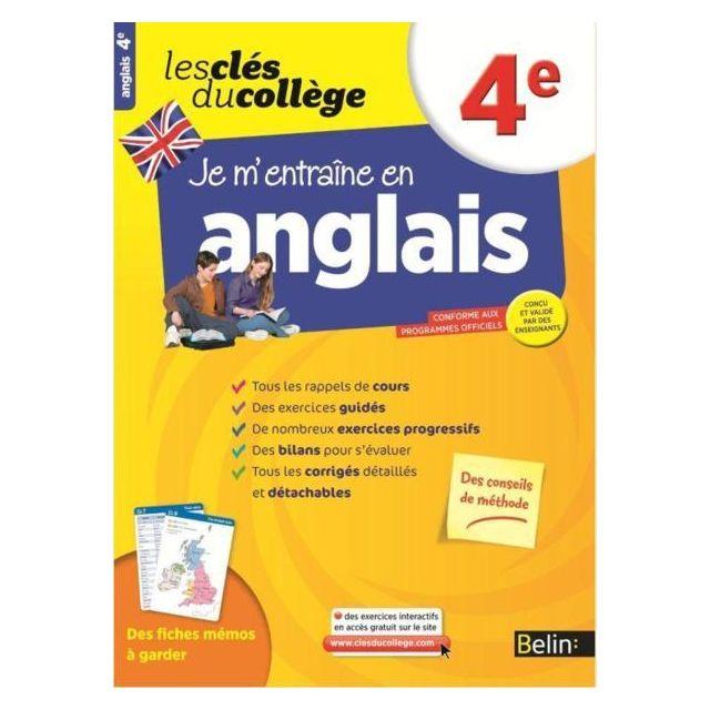 Belin Les Cles Du College Je M Entraine En Anglais