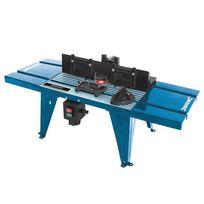 Silverline - Table de défonceuse avec rapporteur - 850 x 330 mm