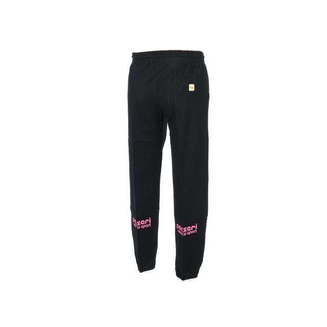 Panzeri - Pantalon de survêtement Uni h nr/fl rose pant Noir 27183