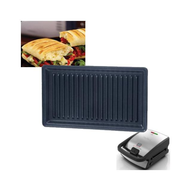 tefal plaque grill panini snack collection x2 pour. Black Bedroom Furniture Sets. Home Design Ideas