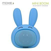 MOXIE - Enceinte Bluetooth Mini Boom 3W - Bleue