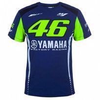 Vr 46 - T-shirt Yamaha Racing Blue Vr46