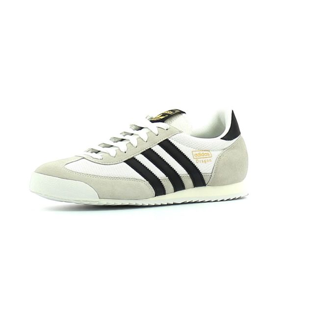Adidas originals - Baskets basses Dragon Blanc - pas cher Achat / Vente Baskets homme - RueDuCommerce