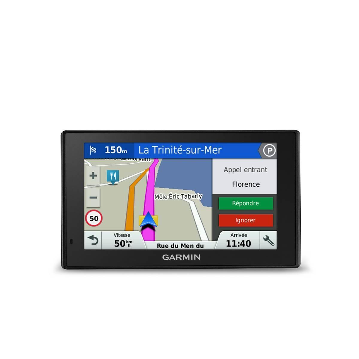 GARMIN GPS DriveSmart 51 - 010-01680-2G - Noir