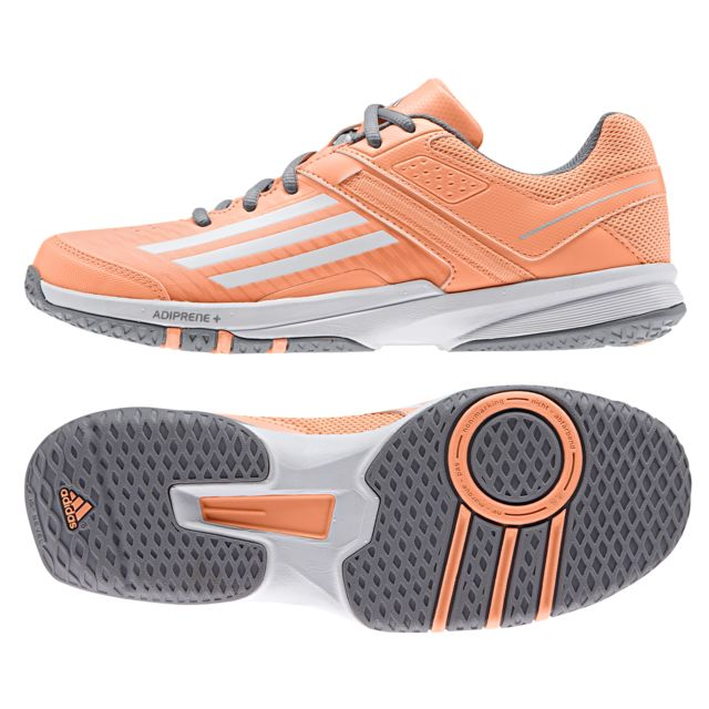 cb58b9fa37e845 Adidas performance - Chaussures Handball Counterblast 5 Femme Orange ...
