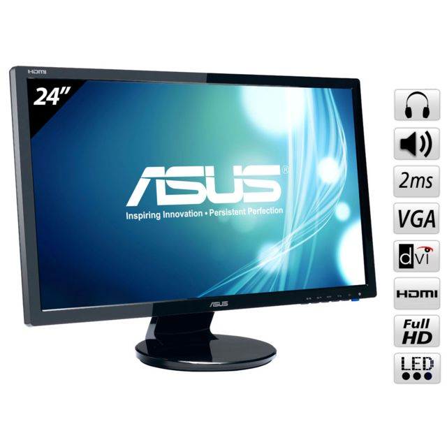 ASUS - VE247H 24