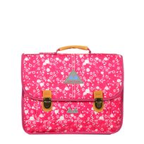 Poids Plume - Cartable scolaire Be allover color 38 cm Liberty Framboise