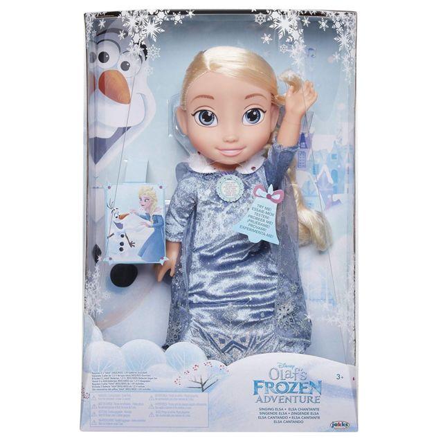 Jakks Pacific 72536 Chanson d'hiver avec Elsa la Reine des Neiges. En anglais