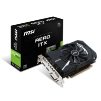 MSI - GeForce GTX 1050 AERO ITX 2G OCV1