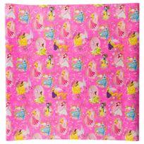 Hoomark - Papier cadeau princesse - 200 x 70 cm Rose foncé