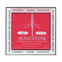 Augustine - Corde au détail guitare classique Mi grave - filée rouge tirant normal